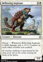 Ixalan: Bellowing Aegisaur
