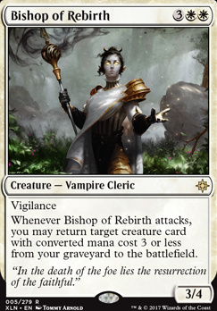 Ixalan Foil: Bishop of Rebirth