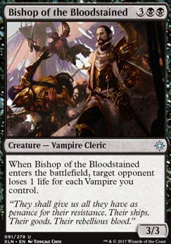 Ixalan: Bishop of the Bloodstained
