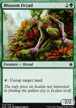 Ixalan: Blossom Dryad