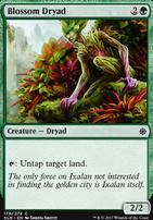 Ixalan Foil: Blossom Dryad