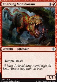 Ixalan: Charging Monstrosaur
