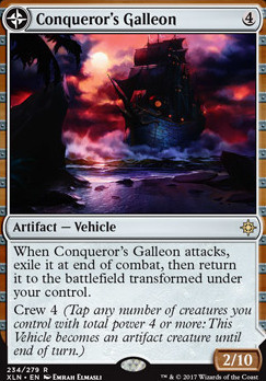 Ixalan: Conqueror's Galleon