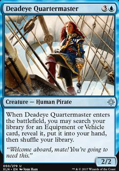 Ixalan Foil: Deadeye Quartermaster