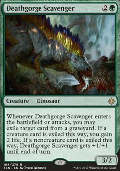 Ixalan: Deathgorge Scavenger