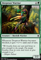 Ixalan Foil: Deeproot Warrior