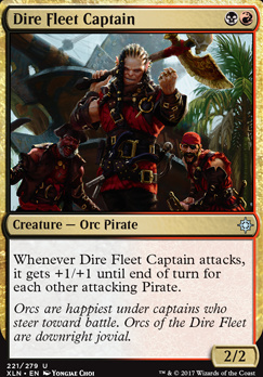 Ixalan Foil: Dire Fleet Captain