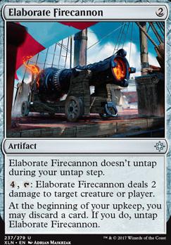 Ixalan Foil: Elaborate Firecannon