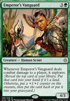 Ixalan Foil: Emperor's Vanguard