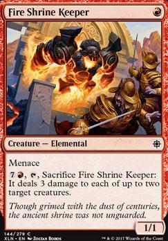 Ixalan: Fire Shrine Keeper