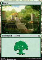 Ixalan: Forest (276 A)