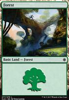 Ixalan: Forest (277 B)