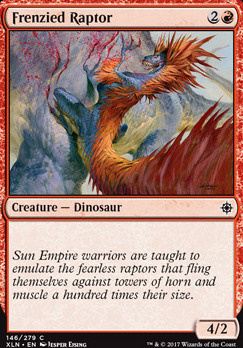 Ixalan: Frenzied Raptor