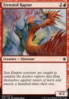 Ixalan: Frenzied Raptor