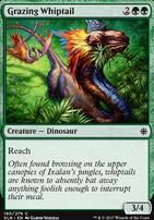 Ixalan Foil: Grazing Whiptail