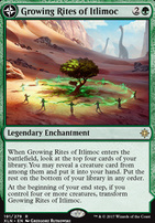 Ixalan Foil: Growing Rites of Itlimoc
