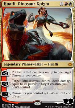 Ixalan: Huatli, Dinosaur Knight (Foil - Planeswalker Deck)