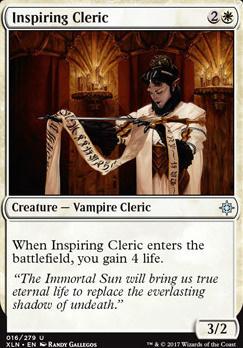 Ixalan: Inspiring Cleric