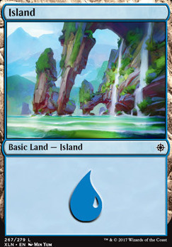 Ixalan: Island (267 D)