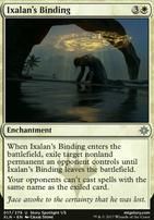 Ixalan: Ixalan's Binding