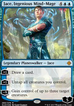 Ixalan: Jace, Ingenious Mind-Mage (Foil - Planeswalker Deck)
