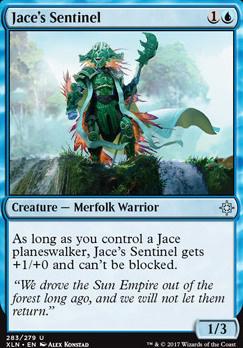 Ixalan: Jace's Sentinel (Planeswalker Deck)