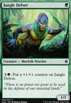 Ixalan Foil: Jungle Delver