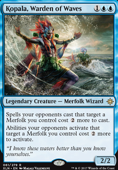 Ixalan Foil: Kopala, Warden of Waves