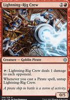 Ixalan Foil: Lightning-Rig Crew