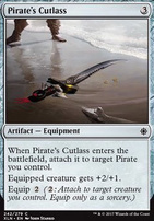 Ixalan Foil: Pirate's Cutlass