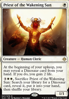 Ixalan: Priest of the Wakening Sun