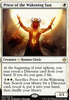Ixalan Foil: Priest of the Wakening Sun