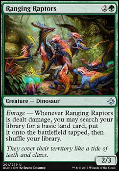 Ixalan Foil: Ranging Raptors