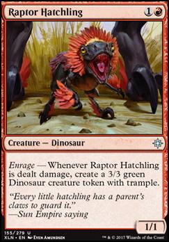 Ixalan: Raptor Hatchling