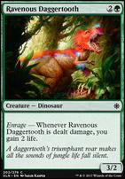 Ixalan Foil: Ravenous Daggertooth