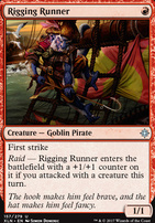 Ixalan Foil: Rigging Runner