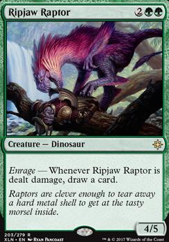 Ixalan: Ripjaw Raptor