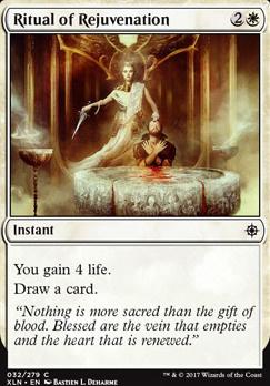 Ixalan Foil: Ritual of Rejuvenation
