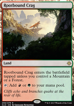 Ixalan Foil: Rootbound Crag