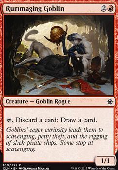 Ixalan: Rummaging Goblin