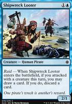 Ixalan Foil: Shipwreck Looter