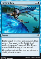 Ixalan Foil: Siren's Ruse