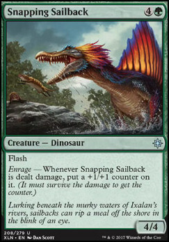 Ixalan: Snapping Sailback