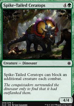 Ixalan: Spike-Tailed Ceratops