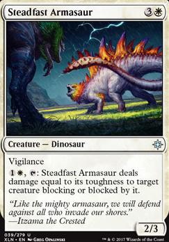 Ixalan: Steadfast Armasaur