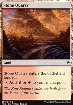 Ixalan: Stone Quarry (Planeswalker Deck)