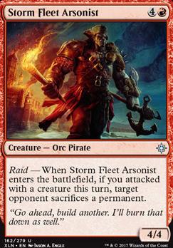 Ixalan Foil: Storm Fleet Arsonist