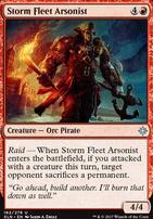 Ixalan: Storm Fleet Arsonist