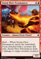Ixalan Foil: Storm Fleet Pyromancer