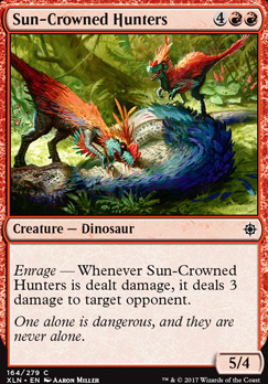 Ixalan: Sun-Crowned Hunters